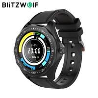 BlitzWolf BW-HL3 Smartwatch Smart Watch Männer Damenuhren Herzfrequenz Blutdruck Bluetooth-kompatibles Fitnessarmband Herrenuhren Fitness Tracker Smart Watch Mann für Android iOS für Xiaomi