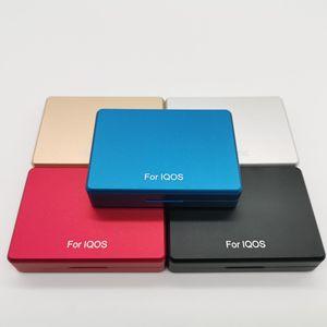 Image 5 - Moda 20 otwory psychicznego pudełko materiał ze stopu aluminium papierośnica dla IQOS do przechowywania papierosów pudełko
