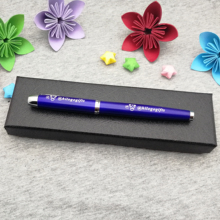 Colorful gel pen nice birthday gift for girlfriend personalized free with your name and wish text ship box