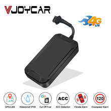 Car GPS Tracker 4G LTE Vehicle Tracker Cut Off Oil Engine Motorcycle GPS Locator Tracking Device Waterproof IPX6 Free APP Track