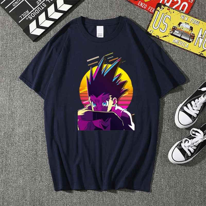 Купить хлопковая футболка с коротким рукавом в стиле ретро