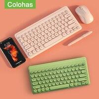 tastiera wireless,Mini tastiera Wireless Mouse Set 2.4G tastiera da gioco Wireless Mouse Combo per Laptop Macbook Xiaomi Computer PC Gamer tastiera