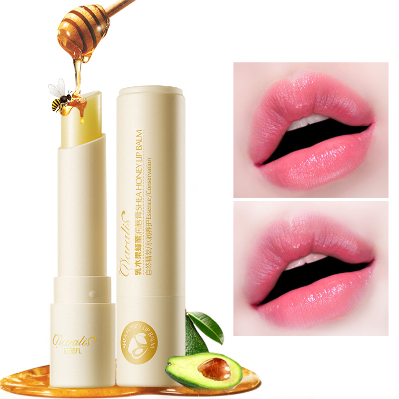 Hot Natural Honey Chapstick Lip Balm Plumper Repair Wrinkle Dry Nourish Moisturizing Anti Aging LipBalm Woman Winter Lips Care