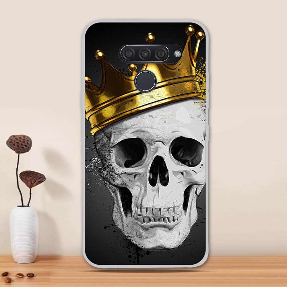 Silikon Fall für LG Q60/K50/K12 Prime Fall Abdeckung Weiche TPU Telefon Fall für LG K50 Zurück abdeckung Funda Coque Capa Shell Stoßstange