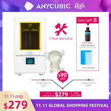 Anycubic Photon S LCD 3D Printer Kit Quick Slice 405nm Matrix UV Light Dual Z axis SLA 3d printer Photon S impresora 3d