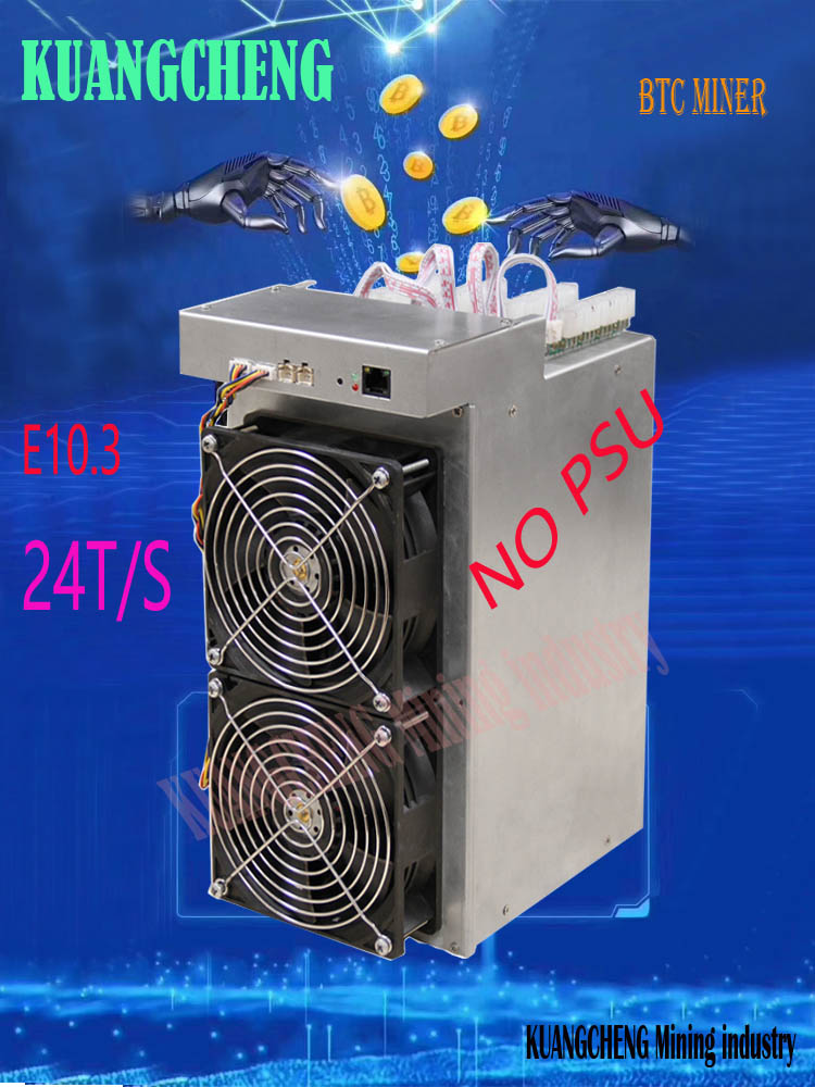 New BTC Miner Ebit E10.3  24TH/s With PSU Economic Than Antminer S9 S9k T9+ S11 S15 T15 Ebit E9i 13.5t E10 18T WhatsMiner M3
