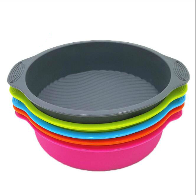 High-Quality §D Silicone Round Baking Tray Cake Tin
