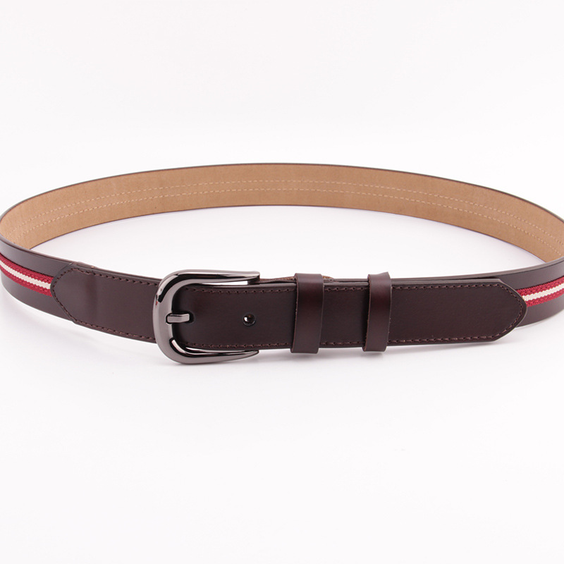 2018 Spring New Style WOMEN'S Leather Belt Garment Accessories Second Layer Head Cowhide WOMEN'S Belt Waist Wholesale