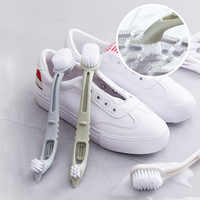 Double-end chaussures brosse nettoyant nettoyage Sneaker blanc chaussures nettoyant Kit multifonction ménage nettoyage brosse blanchisserie outil