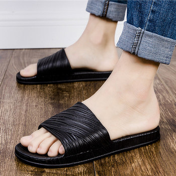 Women Slippers Men Summer Casual Shoes Outdoor Summer Slides Cheap Light Soft Flat Sandals Couples Slippers Non-slip Indoor фото