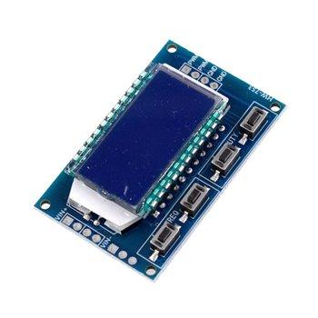 Módulo de HW-753 de generador de señal con función de visualización LCD XY-LPWM diente de sierra onda triangular sinusoidal cuadrada