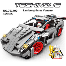 SEMBO Super Racers Lamborghinies Veneno Supercar Model Building Blocks Sets Bricks Toys for Children gift цена