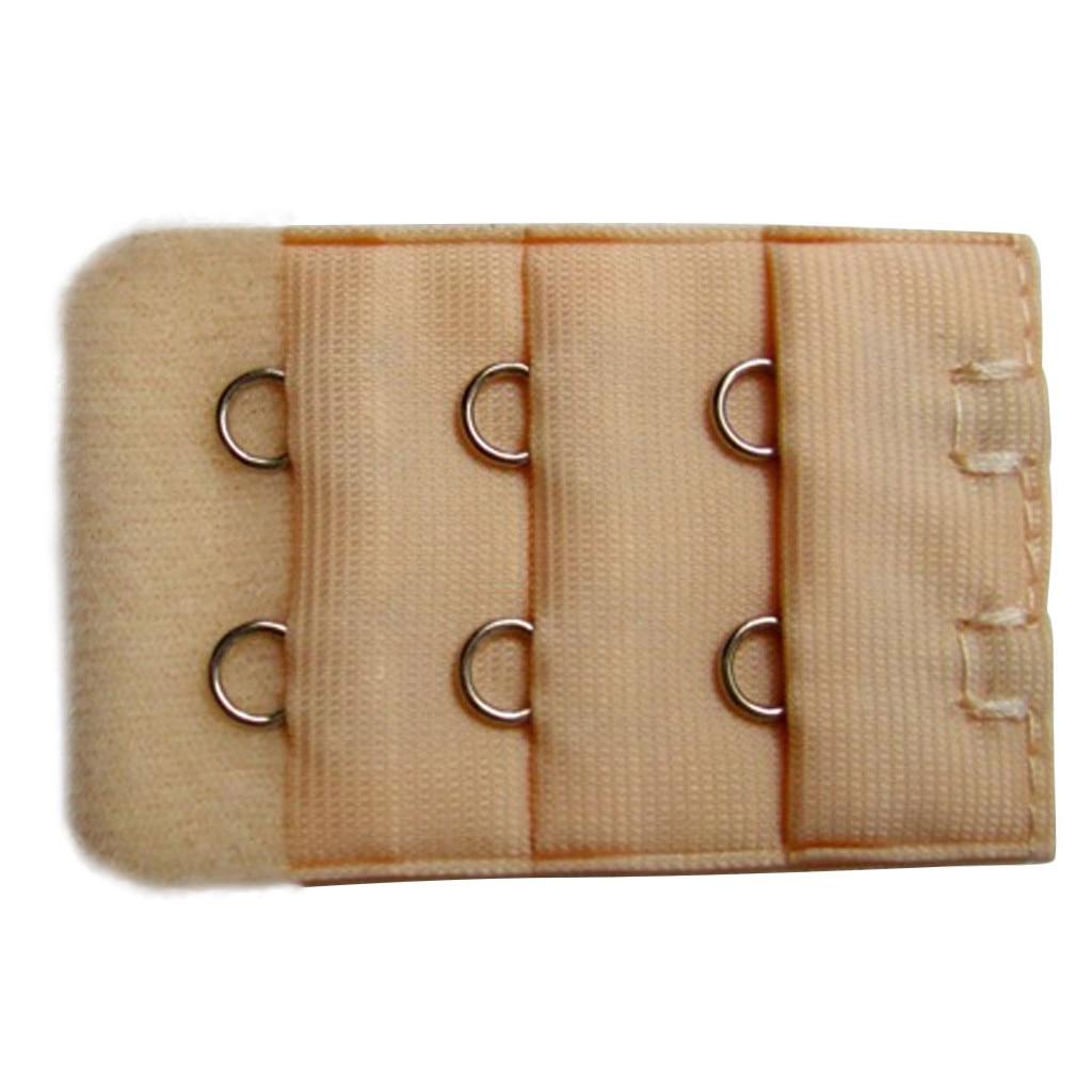 Hot Sale Ladies 2/3 Hook Bra Extender Soft Bra Extension Strap Underwear Belt Adding 3 Colors Women's Intimates