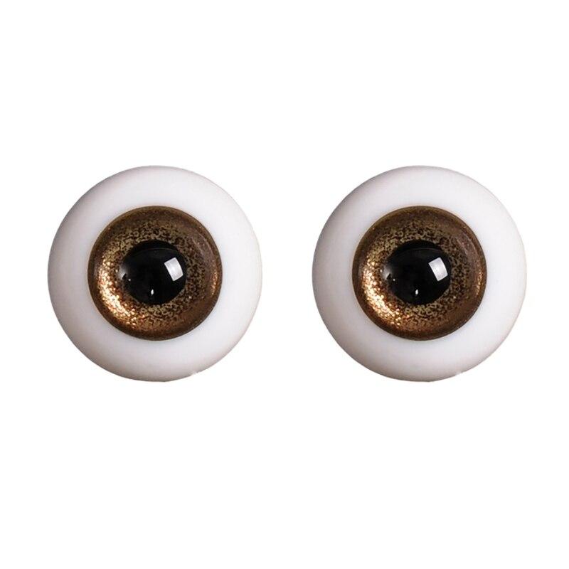 14mm 1/3 1/4 Doll Glass Eyes Doll Accessories Glasss Doll Eyeball 12