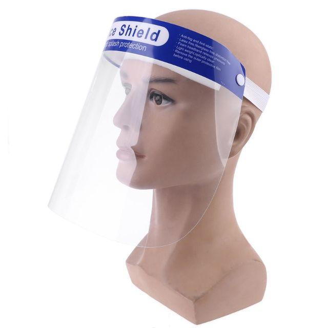 Protective Adjustable Face Masks Anti-Saliva Dust-Proof Full Face Cover Mask Visor Shield 2