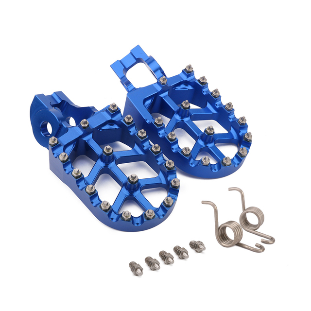 Color : A Pedals Rests 2017-2020 Foot Pegs Rests Pedals Handguards For K/&T/&M SX85 SX125 SX-F 250-450 SX250 EXC EXCF 125-530 XC XCF250 XCF350 XCW 125-300 Motorcycle Foot Pegs