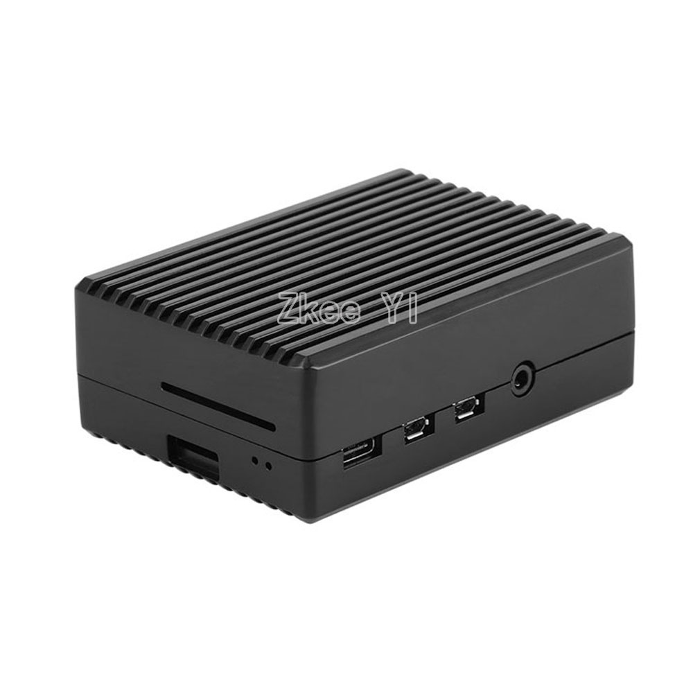 lowest price Latest Raspberry Pi 4  Aluminum Alloy Case with Cooling Column Passive Cooling Case for Raspberry Pi 4 Model B