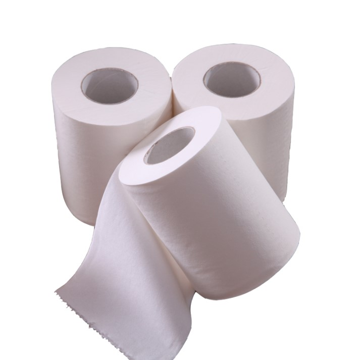 Wholesale White Toilet Paper Toilet Roll Tissue Roll Pack 4Ply Paper Towels Tissue Household Toilet Paper Toilet Tissue Paper CE