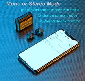 Image 4 - 003 auricolare Bluetooth Wireless TWS auricolari Stereo cuffie con cancellazione del rumore con microfono vivavoce per telefono cellulare