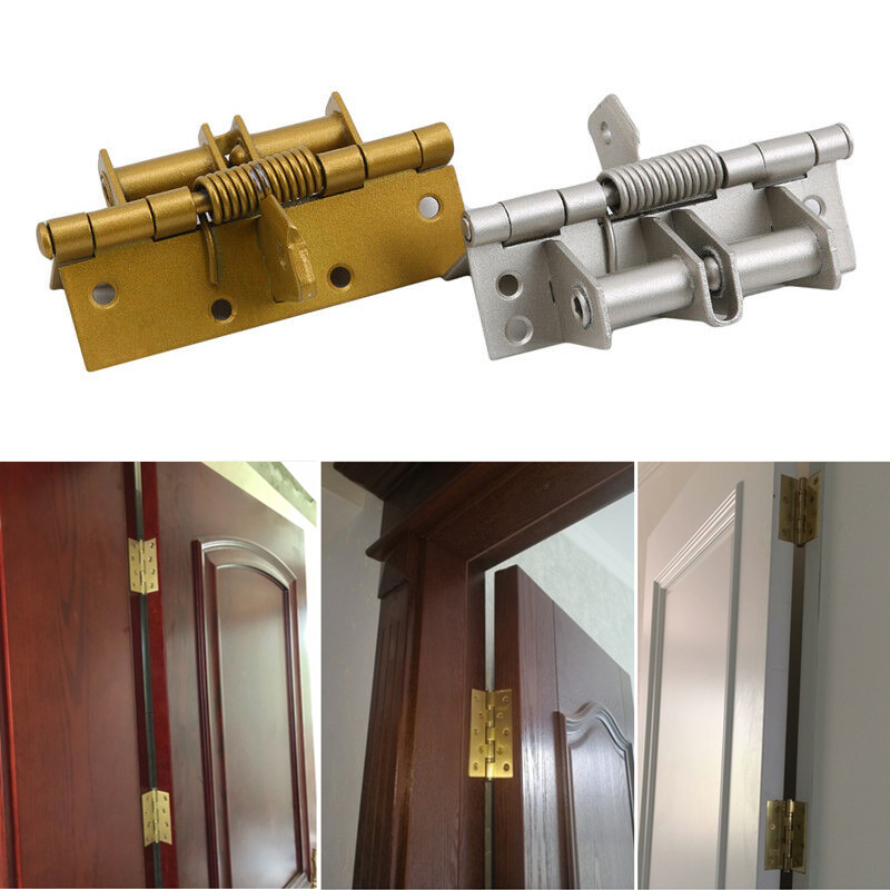 Spring Hinge Durable Accessories Multifunction For Automatic Self Closing Doors Home K888