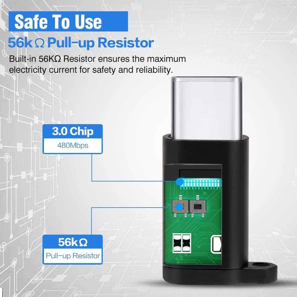อะแดปเตอร์ OTG ประเภท C USB-C Micro USB อะแดปเตอร์แปลงอะแดปเตอร์หญิงสำหรับ Xiaomi Mi 10 Pro หมายเหตุ 10 plus อะแดปเตอร์ USB C