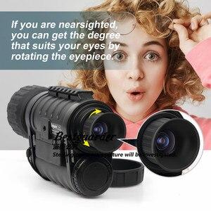 Image 2 - Bestguarder WG 50 Plus Night Vision Telescope with Wifi Function IR Monocular Wildlife 6x50mm Hunting Infrared 850NM HD Camera