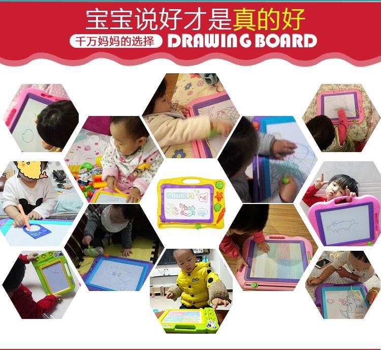 Small Blackboard 6-Year-Old Children Drawing Board 1-3 Years Old Kids CHILDREN'S Extra Large Infants Magnet Girls Tu Hua Ban Wri