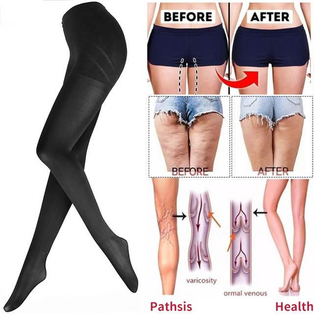 Shapewear Compression Leggings Anti Cellulite Leg Slimming Body ...