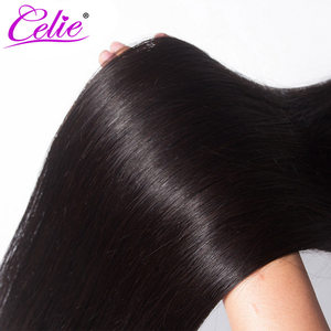 Image 5 - סלי ישר שיער חבילות רמי שיער טבעי הארכת 28 30 32 34 36 38 40 אינץ חבילות ישר ברזילאי שיער Weave חבילות