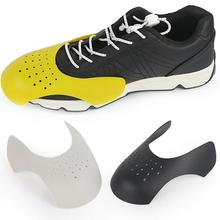 1 Pair Anti Crease Washable Protector Bending Crack Toe Cap Support Shoe Stretcher Lightweight Keeping Sports Shoes Shield
