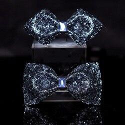 2020 высокое качество, мужские благородные галстуки-бабочки с бриллиантами, дизайнерские брендовые галстуки-бабочки, блестящий романтически...