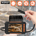 KERUI 8 mm Endoscope Camera 1080P 4.3 Inch LCD Screen Inspection Camera with Monitor Handheld IP67 Snake Camera 8 LED Borescope