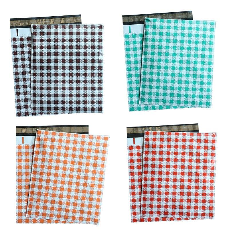 10PCS 10x13'' 260x330mm Color Poly Mailer Cloth Envelopes Self Seal Mailing Bag Envelope Courier Storage Shipping Envelopes