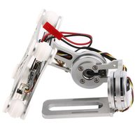 FULL Silver Fpv 2 Axle Brushless Gimbal With Controller For Dji Phantom|Tripod Heads|   -