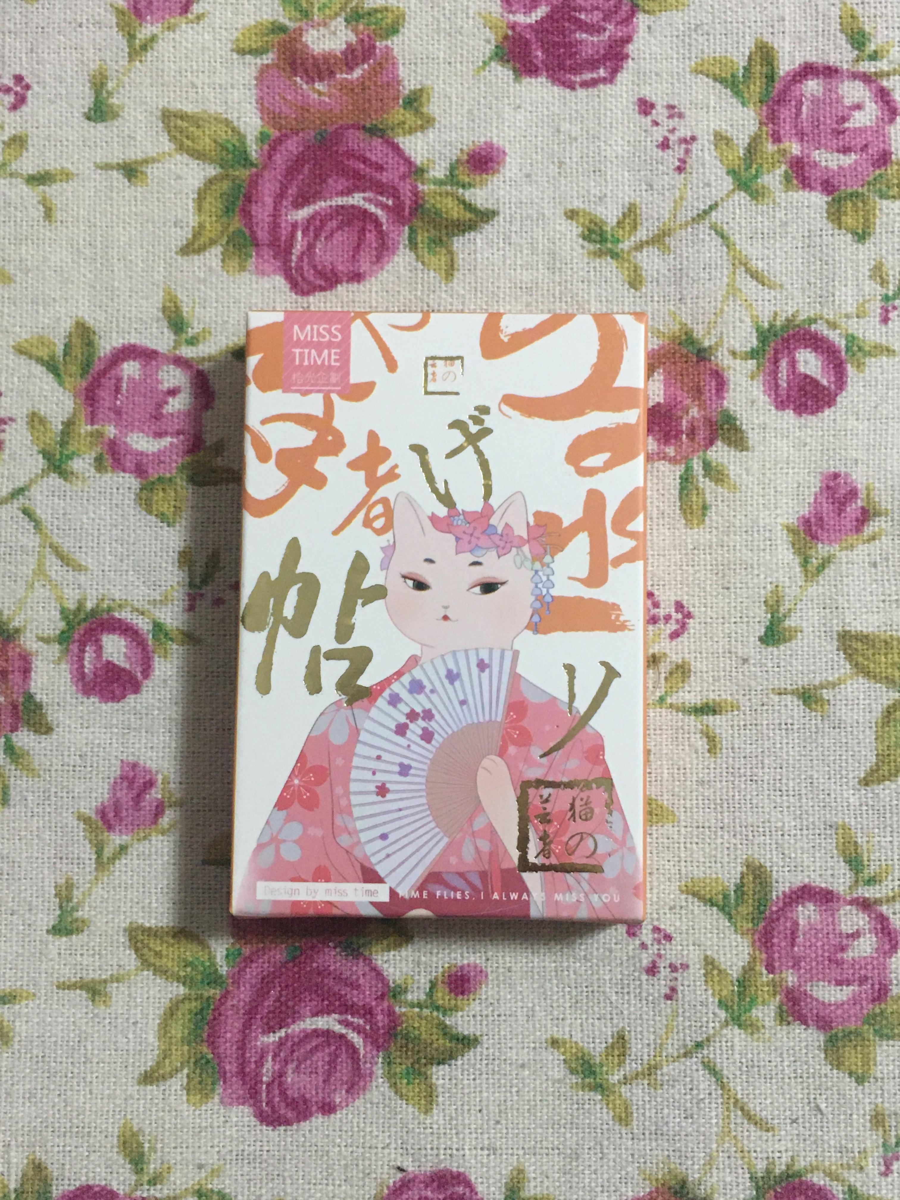 L227- Art Cat Paper Lomo Cards(1pack=28pieces)