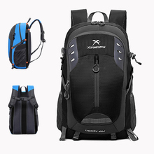 Men Women Nylon Travel Backpack 15-inch Laptop School Bag Outdoor Large Capacity Sports Bag Camping Bag 40L Hiking Backpack creeper large size big capacity outdoor backpack cool outdoor backpack yellow blue for men and women high end hiking bag quality