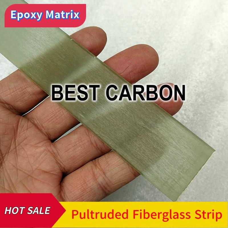 Free Shipping High Strength Epoxy Pultruded Fiberglass Strip ,flat , Bar, 3mm 4mm 5mm 6mm 6.5mm 6.8mm 7mm Thickness