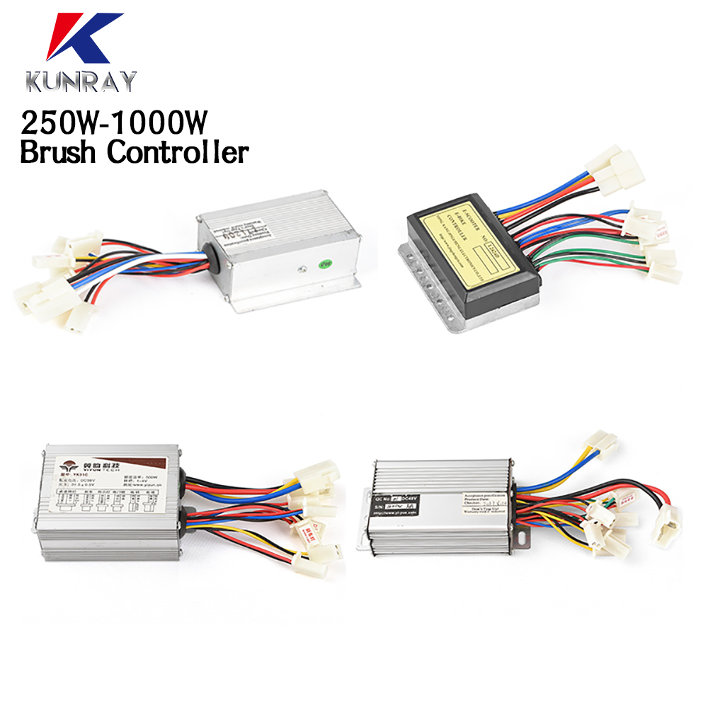 12V 500//800W DC Electric Bike Motor Brushed Controller for Scooter Accessory HOT