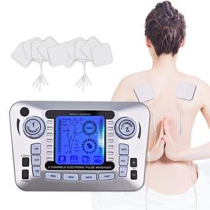 Image 3 - 20 livelli di Decine di Unità di Macchina con 10 Elettrodi per Alleviare Il Dolore di Massaggio di Impulso di SME Stimolazione Muscolare Del Corpo di Agopuntura di Massaggio