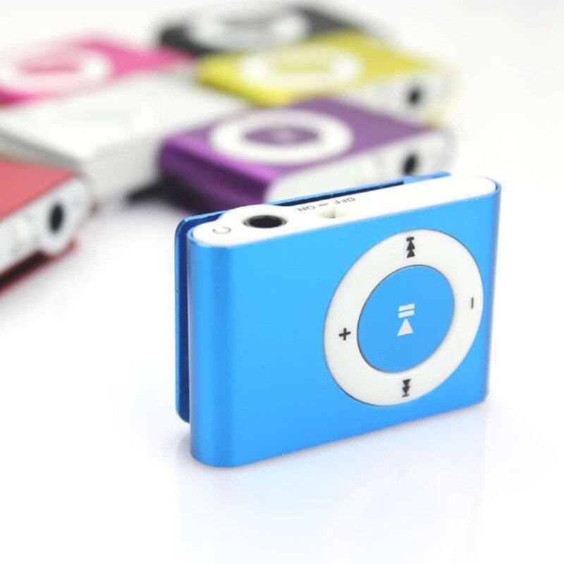 Портативный mp3-плеер, мини MP3-плеер с зажимом, плеер для спорта, MP3-плеер, музыкальный плеер с TF-картой, музыкальный медиаплеер