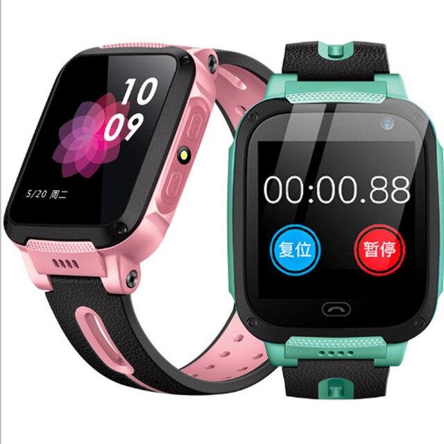 천재 어린이 스마트 시계 스마트 사진 촬영 위치 방수 터치 스크린 시계 아트 시계