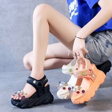 Summer 2020 new fashion versatile sports casual sandals female heightened thick bottom muffin sandals Z922 sandals female 2020 summer new fashion wild sports casual sandals increased thick bottom muffin sandals z922