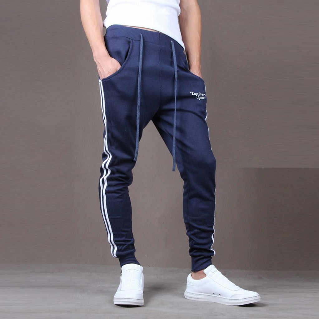Erkek pantolon pantolon sonbahar ekleme baskılı tulum rahat cep spor iş pantolon pantolon yüksek kaliteli erkek pantolon moda yeni stil