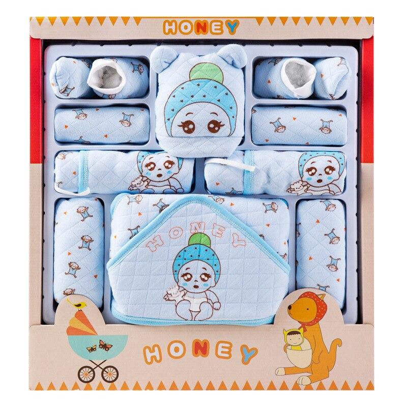 Clothes For Babies Pure Cotton Newborns Gift Set 0-3 Month 6 Autumn & Winter Newborn Baby Supplies