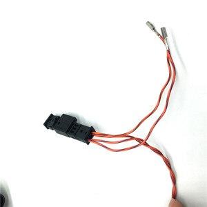 Image 3 - רכב לוגו Flip RVC מבט אחורי מצלמה היפוך מסלול מסלול עמדת קו להתחבר חיווט לרתום עבור פולקסווגן פאסאט B8 CC גולף 7.5