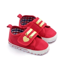 5 Colors Baby Canvas Shoes Sport Breathable Boys Sneakers