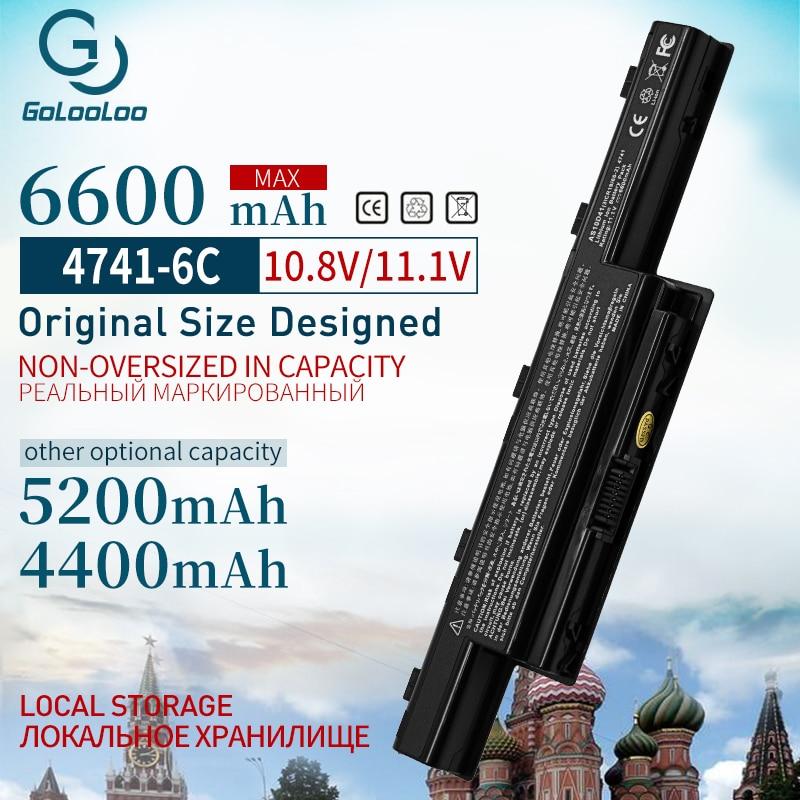 Golooloo 11.1v Bateria Do Portátil Para Acer as10d51 V3 571G AS10D41 AS10D73 AS10D5E AS10d31 AS10D81 5750 5750G 5742G 5552G 5755G 5560