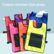 Props Vest With Sticky Ball Throwing Outdoor Fun Sp