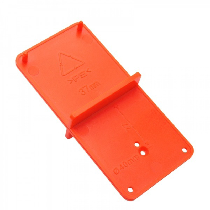 35mm/40mm Hinge Hole Drilling Guide Locator Door Cabinets Hole Opener Positioning Template DIY Woodworking Tool