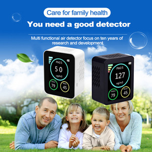 M10 Air Quality Monitor for PM2.5 AQI Professional Electrochemical Sensor Detect Smart Monitor For Home Office Car Gas Detector